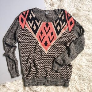 Urban Outfitters Ecote Geometric Sweater | Size S